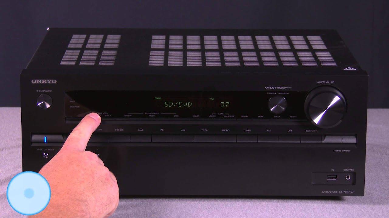 Onkyo TX-NR737 AV Receiver Windows 8