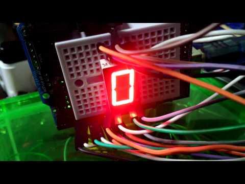 ทดลองการเขียนโปรแกรมแสดงผล LED 7 s