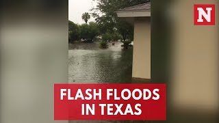 Flash Flood Watch Issued As Heavy Rain Hits South Texas