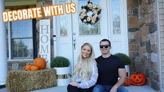 DECORATING OUR HOUSE FOR FALL | KELLY & STEPHEN