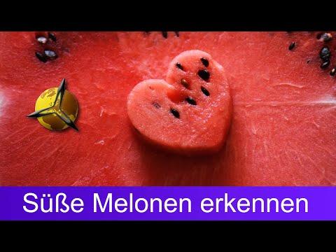 Reife Wassermelonen: Süße Melonen erkennen & kaufen