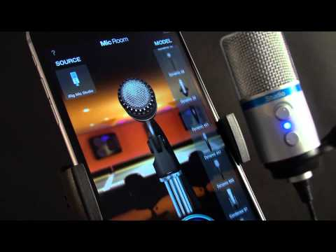 Mic Room microphone modeling app for iOS - Overview