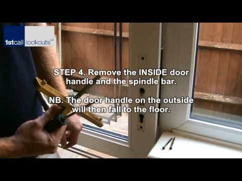 Upvc Multipoint Strip Lock Removal And Fitting Wmv Youtube