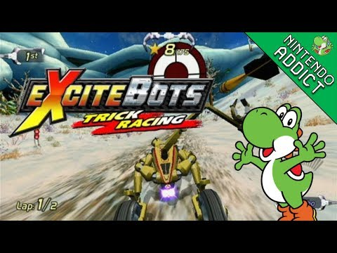ExciteBots: Trick Racing   Excite Mode And Minigames   Live Playthrough [#1]