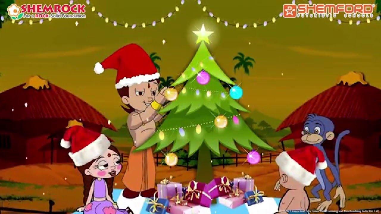 Christmas Story for kids with Chhota Bheem - YouTube