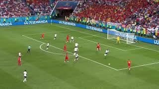 ロシアW杯2018ベルギー対イングランド ゴール後のハプニングwww