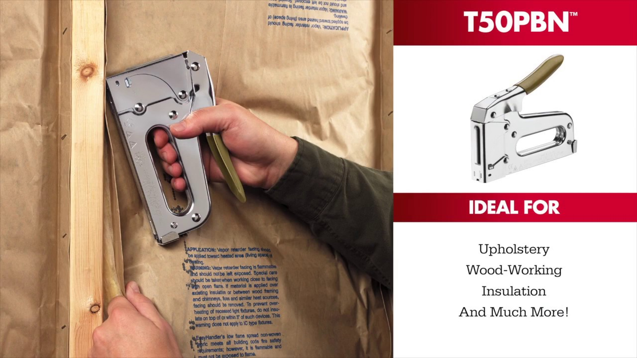 the t50pbn heavy duty staple gun u0026 nailer