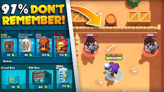 18 Things ONLY BRAWL STARS OG's Remember!