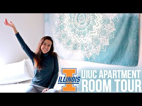 Room Tour // University of Illinois