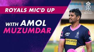 Royals Mic'd Up   Amol Muzumdar & Robin Uthappa