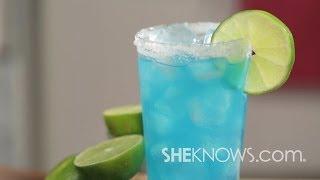 Make A Blue Kamikaze Drink