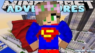 Minecraft - Little Kelly Adventures : BECOMING SUPERGIRL!