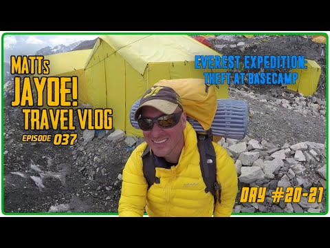 EVEREST EXPEDITION: THEFT AT BASECAMP