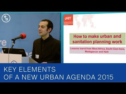 How to make urban and sanitation planning work?