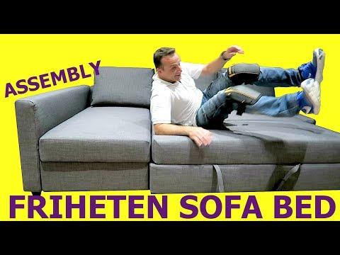 IKEA FRIHETEN Sofa Bed Assembly instructions