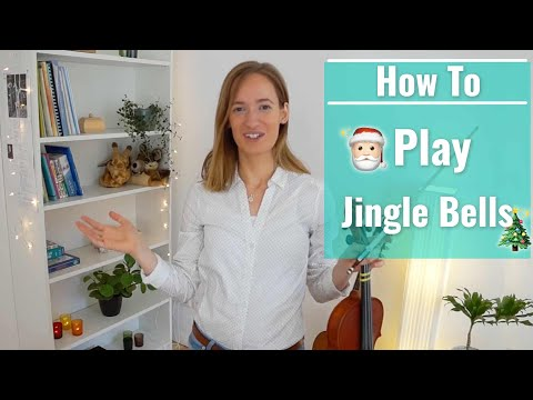 How to play Jingle Bells | Easy Beginner Song | Violin Tutorial