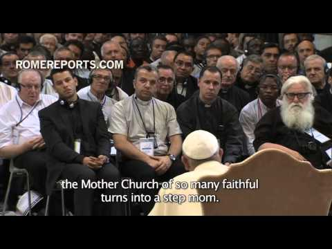 Pope to Priests: If you focus on bureaucracy, our Mother Church becomes a step mom