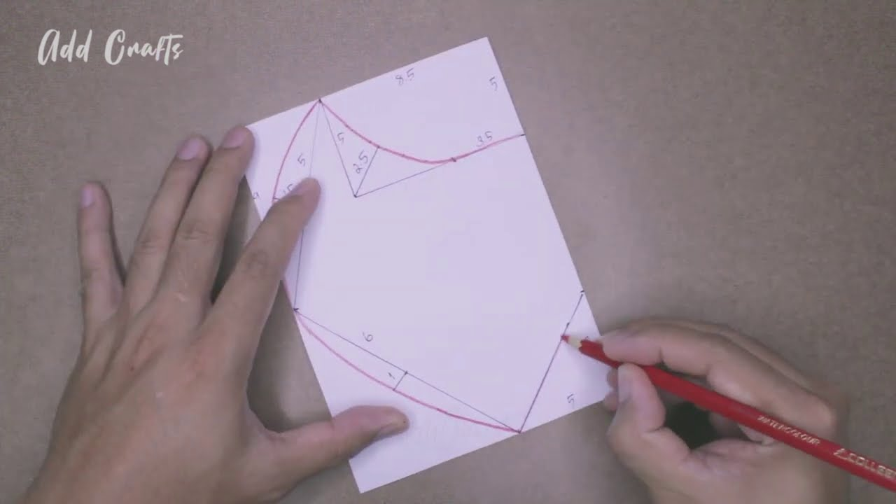 How To Make a Face Mask   No Sewing Machine   Face Mask Sewing Tutorial   Face Mask Pattern