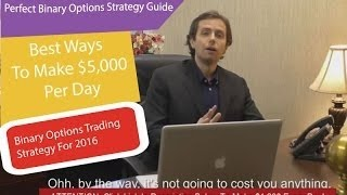 Best Binary Options Trading 2017 - 90% Win Ratio Trading Strategy
