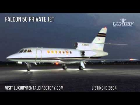 Falcon 50 Private Jet Charter
