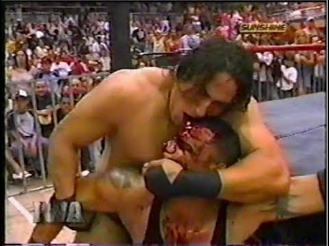 IWA: Ricky Banderas vs. Chicano - Hardcore Match (2003)