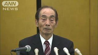 「心残りはありません」輿石参院副議長が引退表明(16/01/18)