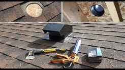 Vent Roof Cap installation DIY. Колпак вытяжки на крыше