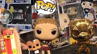 FUNKO POP HUNTING GAMESTOP, WWE RONDA ROUSEY & CHROME MARVEL BLACK PANTHER UNBOXING + CURT HAWKINS
