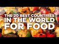 Top 10 Countries with Best Food- Best Countries in the World for Food