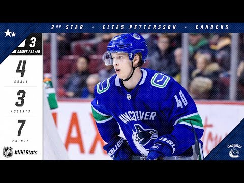 Pettersson collects second star of the week