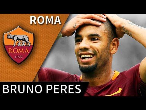 Bruno Peres • 2016/17 • Roma • Best Defensive Skills & Goal • HD 720p