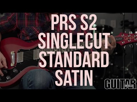 PRS S2 Singlecut Standard Satin