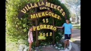 Vacaciones 2012 Villa La Merced Dique Los Molinos CORDOBA Argentina