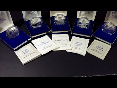 Marshall Islands $50 Silver Coins .999 Proof Set
