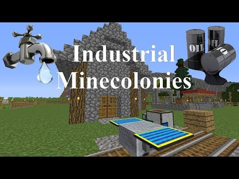 Industrial Minecolonies Episode 3 - Food Cart