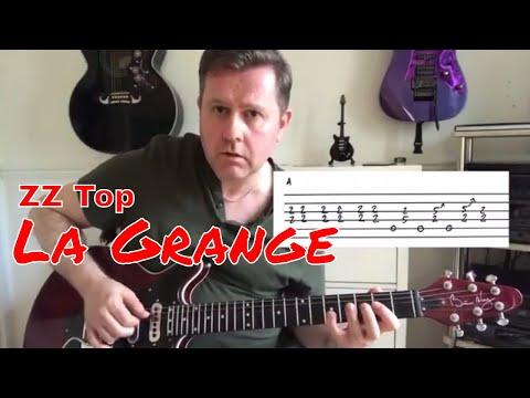 ZZ Top - La Grange - Guitar Lesson (Guitar Tab)