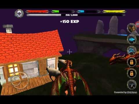 Обзоры  игры симулятор  дракона на андройд :)