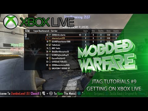 Jtag/RGH Tutorials #9 How to get on Xbox Live