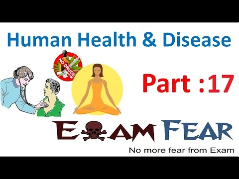 Biology Human Health & Diseases part 17 (Allergies) class 12 XII