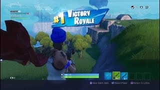 Fortnite BR getting a guy his first win in 2 seasons (he hasnt played since season 5)