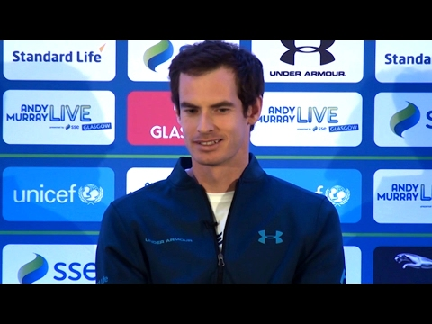 Sir Andy Murray On 'Andy Murray Live Glasgow 2017' - Full Press conference