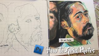 Artorials: How To Grid Pictures for Drawing In Photoshop