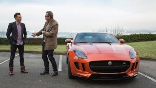 CEOs in Cars with Jamie Garratt in the 2015 Jaguar F-Type R Coupe from Jaguar Vancouver