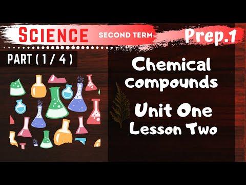 Science | Prep.1 | Unit 1 Lesson 2 - Part 1 | Chemical compounds