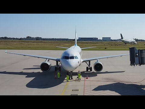 FULL FLIGHT | Eurowings operated by airberlin | Leipzig to Stuttgart