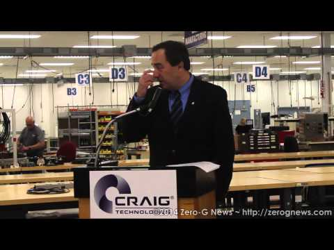 "Sierra Nevada Corporation Adds Craig Technologies to Dream Chaser ""Dream Team"""