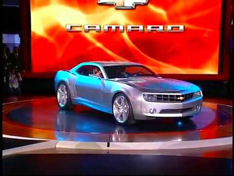 Camaro Concept Intro 2006 Youtube