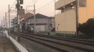 阪神9300系9505F直通特急阪神大阪梅田行き 中八木駅通過