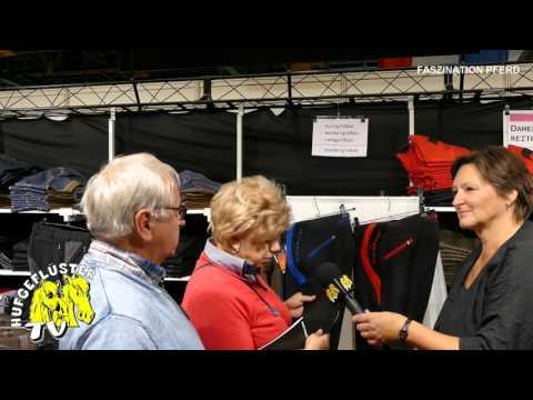 Bild: Faszination Pferd Nürnberg - Interview mit Herrn und Frau Seiler von lookri.de - Reithosen die passen!