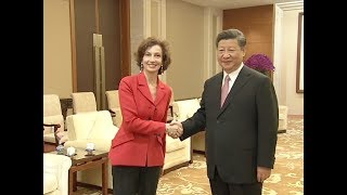 Chinese President Meets UNESCO Director-general